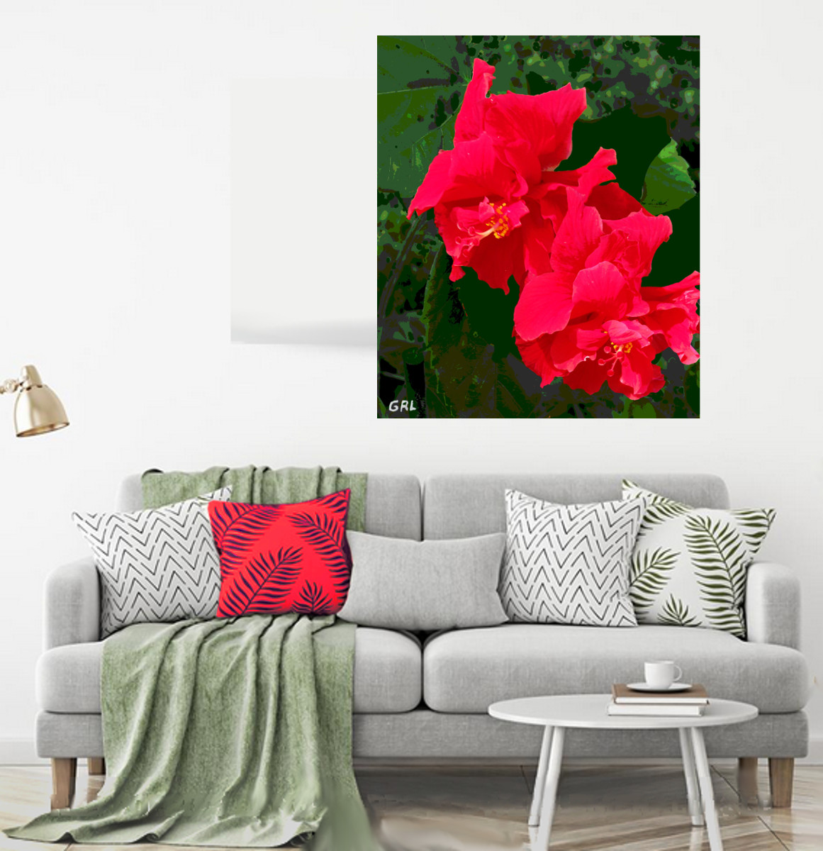 Original Hibiscus Fine Art. Free downloads, wallpaper, ‬‎GrlFineArt. A painting from my home landscape, Gulf Coast, Florida. Fine art work, nudes, figurative paintings. View here, art decor ‪‎fineart figures ‪‎painting‬ ‪‎painting‬s prints. Hibiscus, Home Decor
