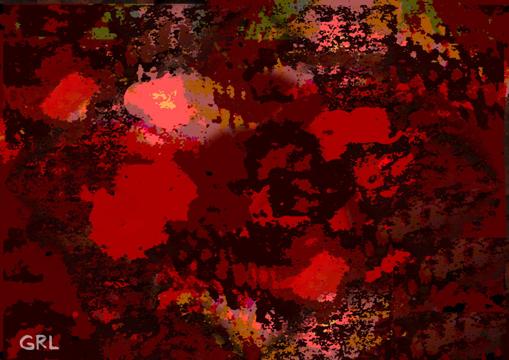 Color Of Red II Dscn0038 Contemporary Abstract Digital Fine Art. An original digital fine art piece, abstract, color-of-red---; darkness of space, time, ?... $18 to $24, medium-size prints. Free downloads, wallpaper, ‬‎GrlFineArt. Galaxy center of red cosmos outward toward the dark...,  patterns of colors.... contemporary, shades of red ... Fine art work, color, red, black, darkness, space, digital abstract painting, Abstract, Abstract Contemporary, Digital Art Digital Painting.