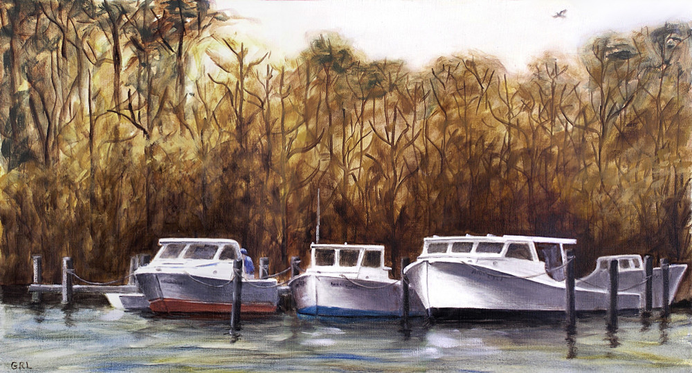 3 Workboats, Chesapeake Bay. I lived a while in Annapolis, and later in Frederick, Maryland; this was done sometime during that time period (late 1980's, early 1990's). $18 to $24, medium-size prints. Free downloads, wallpaper. ‬‎GrlFineArt. Fine art work, seascapes, boats... For art decor ‪‎fineart oil on linen, classical, traditional, ‪‎painting‬ ‪‎painting‬s prints.
