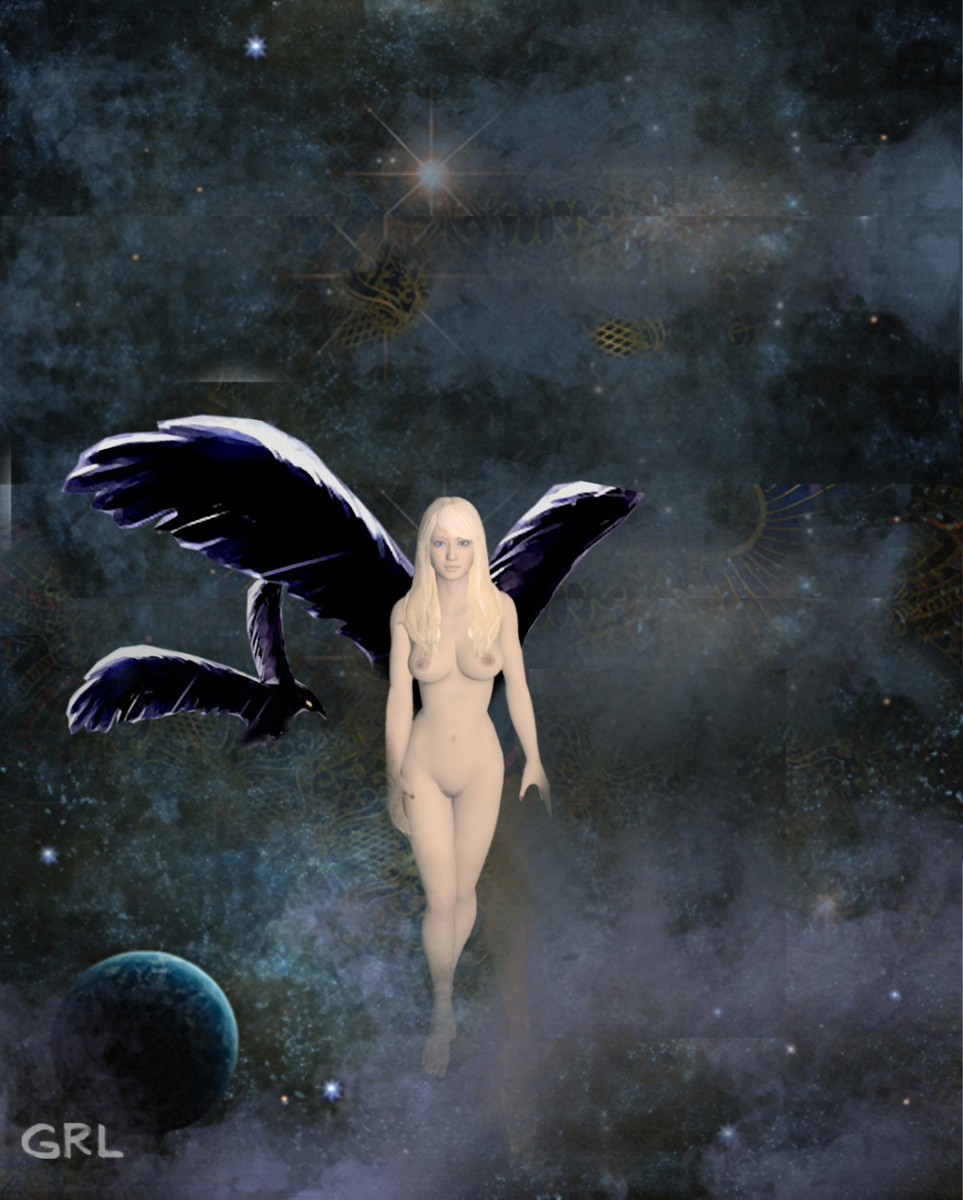 Fantasy Space Goddess Irina2 Pose2b $20 to $30, medium-size prints, free downloads. Fine art work nudes paintings figures figurative, #GrlFineArt. ... Paintings and prints, nudes, female nudes...