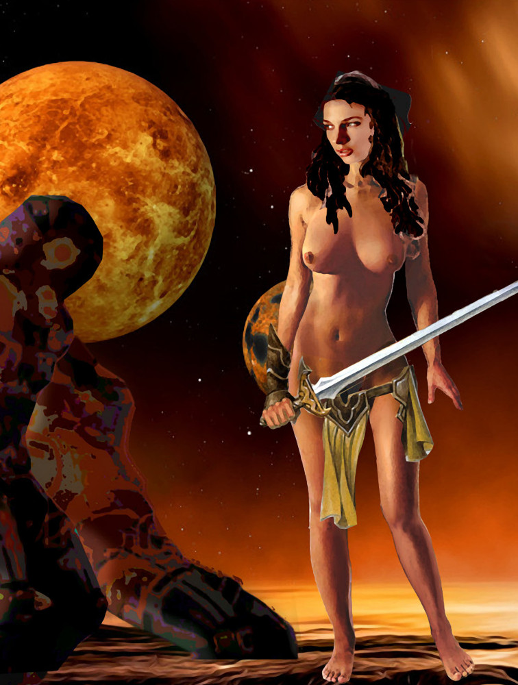 .... $18 to $24, medium-size prints. Free downloads, wallpaper, GrlFineArt. Fine art work, nudes, figurative paintings. View here, art decor fineart figures painting paintings prints. I-elnia, goddess of Alpheratz, handmaiden of Andromeda, in the distance a fiery moon and stars in space...