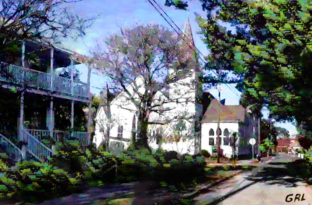 Beaufort North Carolina Street Church. The original view was from some video footage which I took during a visit to see my daughter. $18 to $24, medium-size prints. I used to come here during times when I visited my daughter on Emerald Isle... Free downloads, wallpaper, ‬‎GrlFineArt. Fine art work. For fine art decor, ‪‎fineart beach, shore...